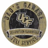 Central Florida Knights Dad's Garage Sign