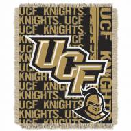 Central Florida Knights Double Play Woven Throw Blanket
