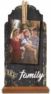 Central Florida Knights Family Tabletop Clothespin Picture Holder