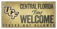 Central Florida Knights Fans Welcome Sign