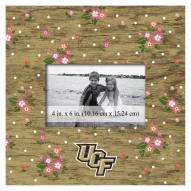 """Central Florida Knights Floral 10"""" x 10"""" Picture Frame"""
