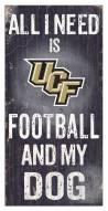 Central Florida Knights Football & My Dog Sign