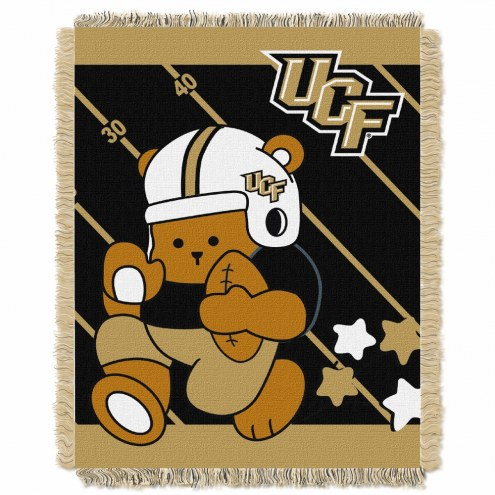 Central Florida Knights Fullback Baby Blanket