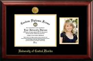 Central Florida Knights Gold Embossed Diploma Frame with Portrait