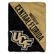 Central Florida Knights Halftone Raschel Blanket