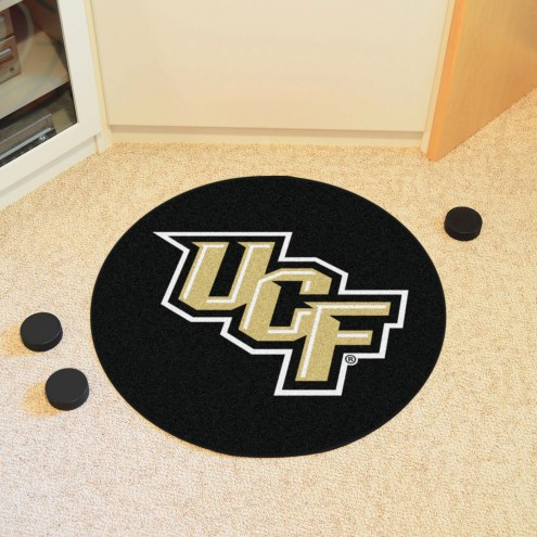 Central Florida Knights Hockey Puck Mat