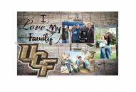 Central Florida Knights I Love My Family Clip Frame