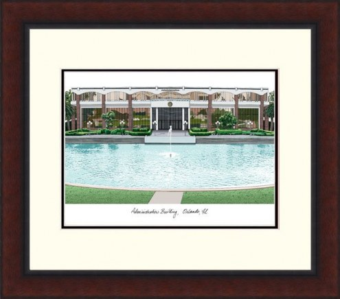 Central Florida Knights Legacy Alumnus Framed Lithograph