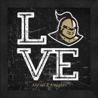Central Florida Knights Love My Team Color Wall Decor