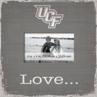 Central Florida Knights Love Picture Frame