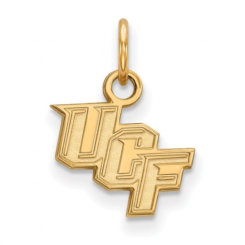 Central Florida Knights NCAA Sterling Silver Gold Plated Extra Small Pendant