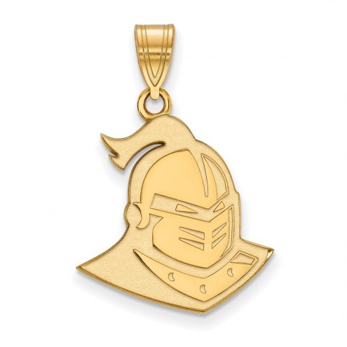 Central Florida Knights NCAA Sterling Silver Gold Plated Large Pendant