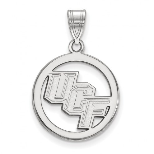 Central Florida Knights NCAA Sterling Silver Medium Pendant