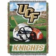 Central Florida Knights NCAA Woven Tapestry Throw Blanket