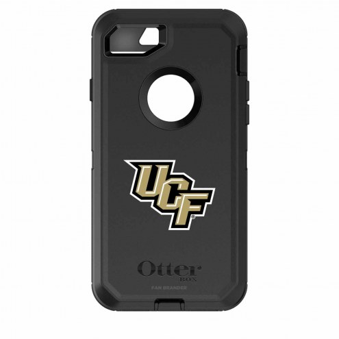 Central Florida Knights OtterBox iPhone 8/7 Defender Black Case