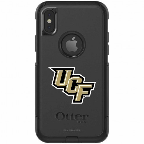 Central Florida Knights OtterBox iPhone X Commuter Black Case
