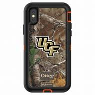 Central Florida Knights OtterBox iPhone X Defender Realtree Camo Case