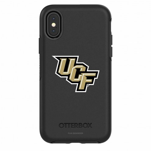 Central Florida Knights OtterBox iPhone X Symmetry Black Case