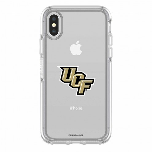Central Florida Knights OtterBox iPhone X Symmetry Clear Case