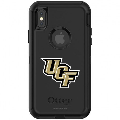 Central Florida Knights OtterBox iPhone X/Xs Defender Black Case