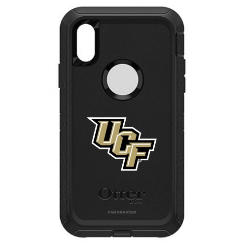Central Florida Knights OtterBox iPhone XR Defender Black Case