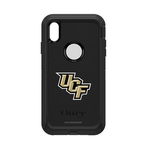 Central Florida Knights OtterBox iPhone XS Max Defender Black Case