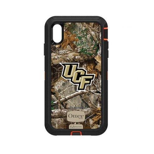 Central Florida Knights OtterBox iPhone XS Max Defender Realtree Camo Case