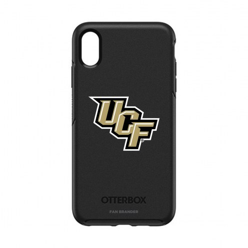 Central Florida Knights OtterBox iPhone XS Max Symmetry Black Case