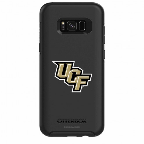 Central Florida Knights OtterBox Samsung Galaxy S8+ Symmetry Black Case