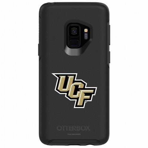 Central Florida Knights OtterBox Samsung Galaxy S9 Symmetry Black Case