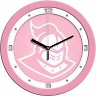 Central Florida Knights Pink Wall Clock
