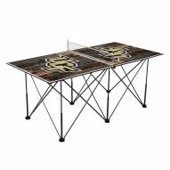 Central Florida Knights Pop Up 6' Ping Pong Table