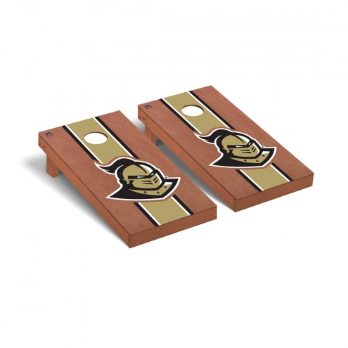 Central Florida Knights Rosewood Stained Cornhole Game Set