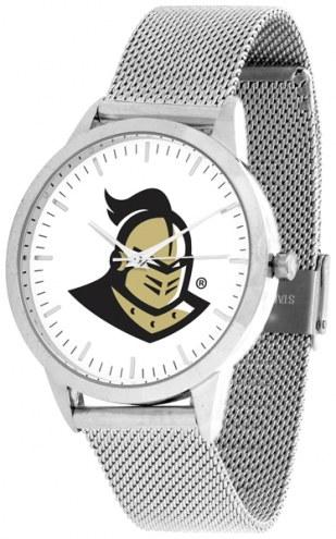 Central Florida Knights Silver Mesh Statement Watch