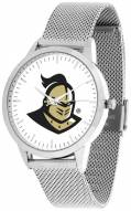 Central Florida Knights Silver Mesh Statement Watch