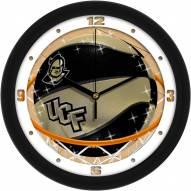 Central Florida Knights Slam Dunk Wall Clock