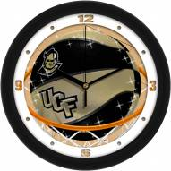 Central Florida Knights Slam Dunk Wall Clock