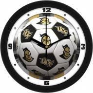 Central Florida Knights Soccer Wall Clock