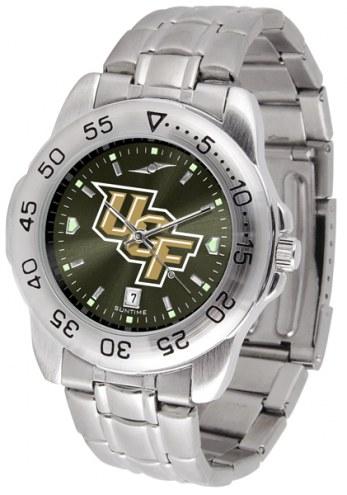 Central Florida Knights Sport Steel AnoChrome Men's Watch