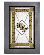 Central Florida Knights Stained Glass with Frame