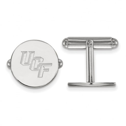Central Florida Knights Sterling Silver Cuff Links