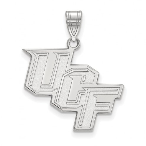 Central Florida Knights Sterling Silver Large Pendant
