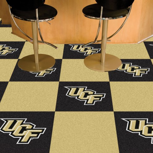 Central Florida Knights Team Carpet Tiles