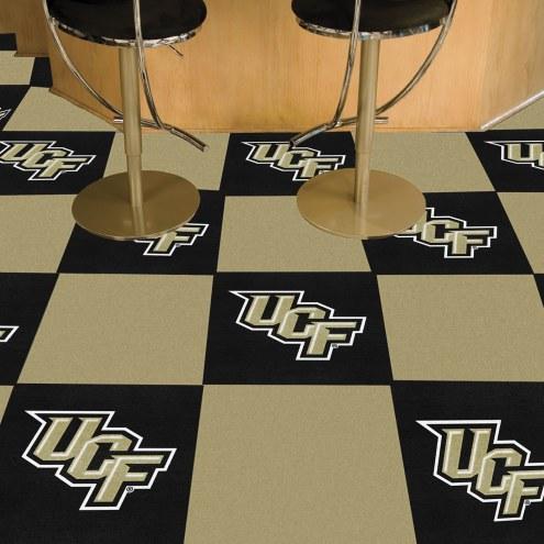 Central Florida Knights Team Carpet Tiles
