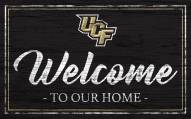 Central Florida Knights Team Color Welcome Sign