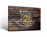 Central Florida Knights Weathered Canvas Wall Art