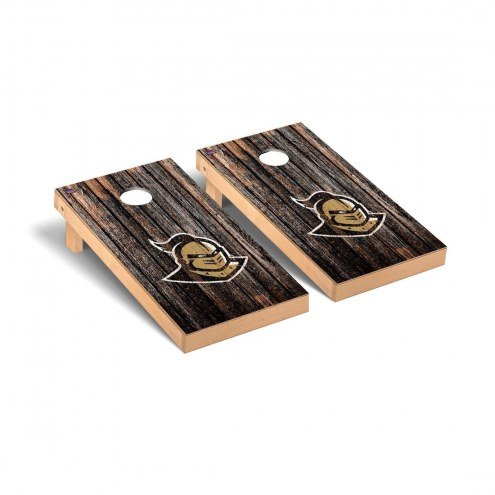 Central Florida Knights Weathered Cornhole Game Set