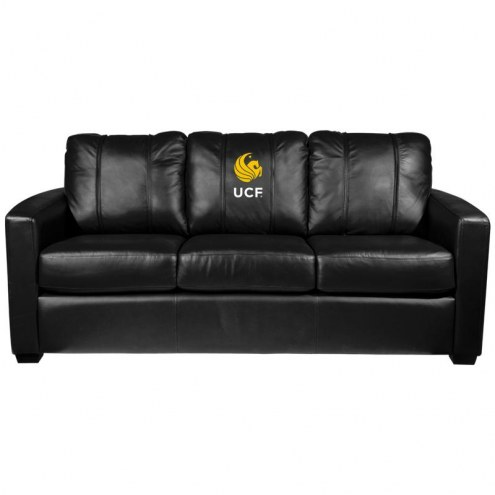 Central Florida Knights XZipit Silver Sofa with Alumni Logo