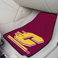 Central Michigan Chippewas 2-Piece Carpet Car Mats