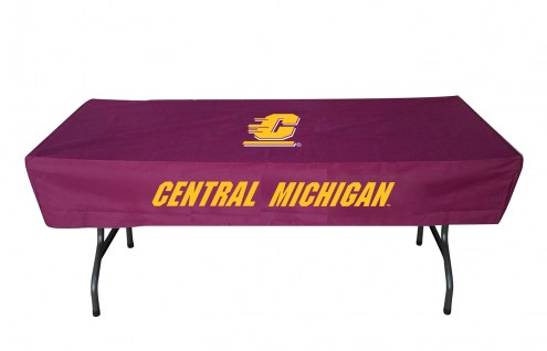 Central Michigan Chippewas 6' Table Cover